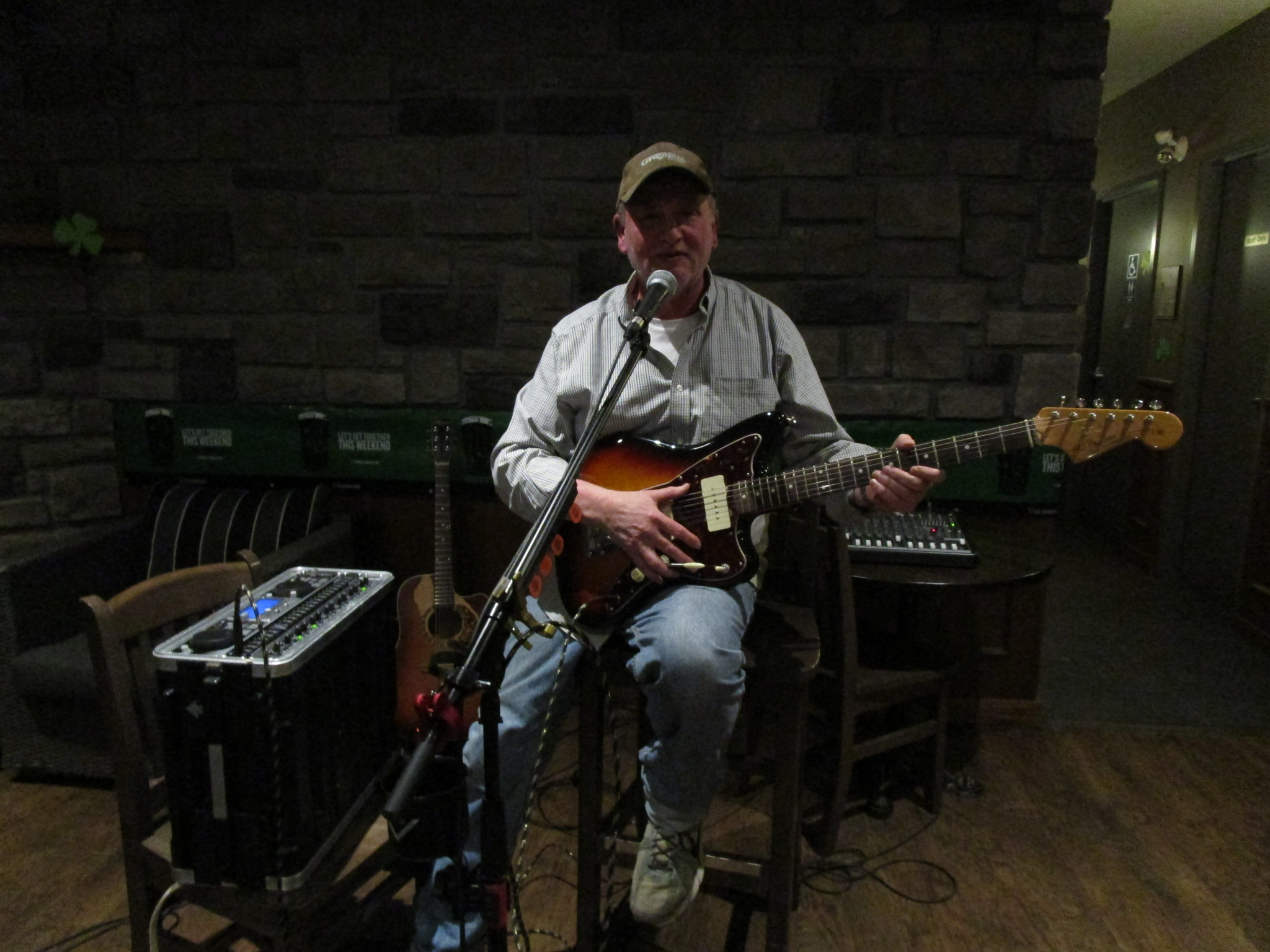 bill werba on guitar